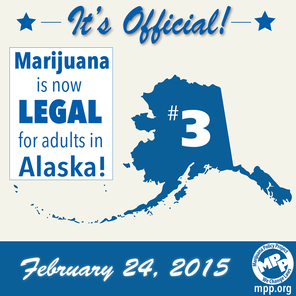 Congrats Alaska Why Alaska Will Be Next To Legalize Cannabis