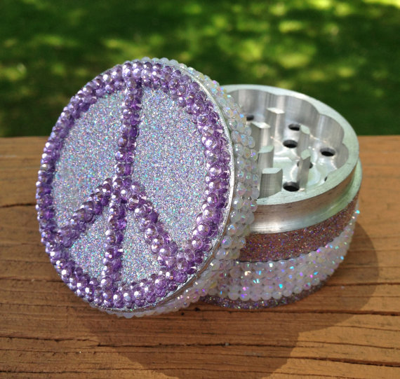 peace glitter Best Grinders. Ever.