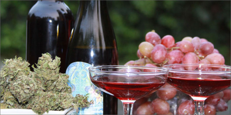 drinks wine 10 Cannabis Drinks You Must Try