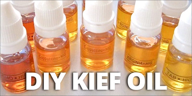 How To Make Potent Cannabis Oil From Kief