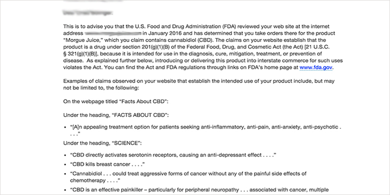 CBD conspiracy CI 1 The CBD Conspiracy: What the FDA Doesnt Want You to Know
