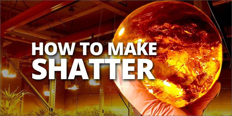 marijuana shatter how to make
