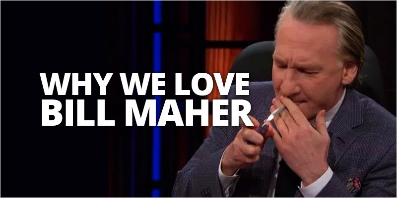 bill mayer hero 1 800x400 this is why all cannabis users should love bill maher