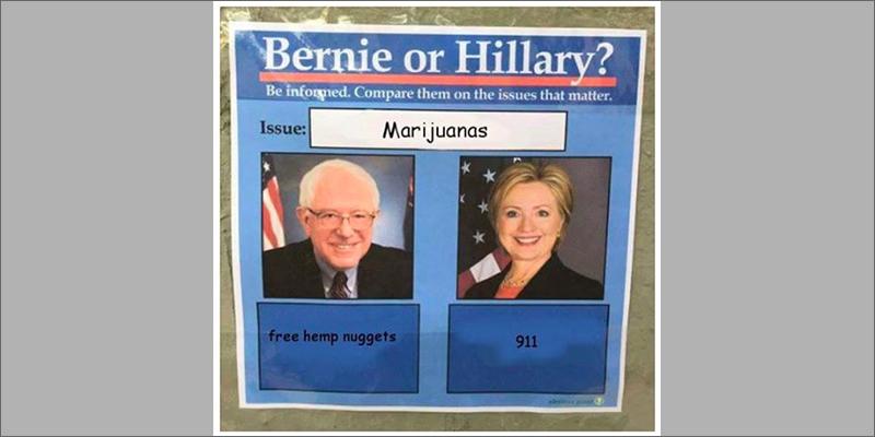 free hemp top 10 hilarious bernie sanders memes