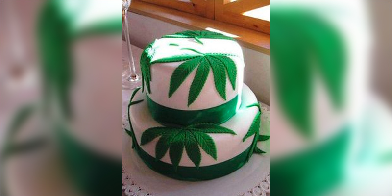 Th Birthday Weed Cake