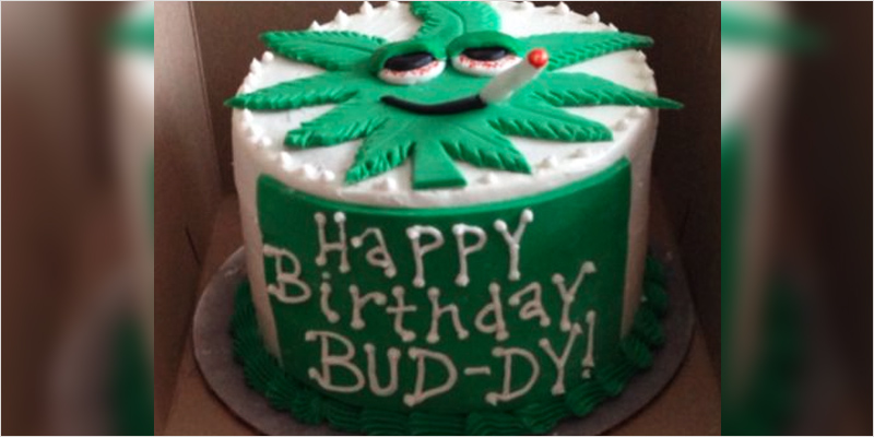 10 Cannabis Themed Cakes Perfect For Celebrating Our 10th Birthday