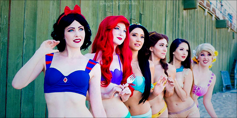Disney Princess Bikinis 2 Disney Princess Bikinis Are Here And Theyre Magical AF