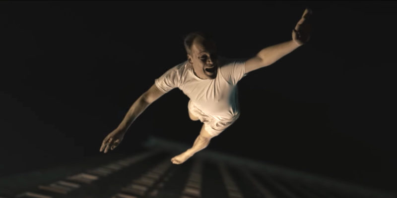 Wormwood - a man falling from a building