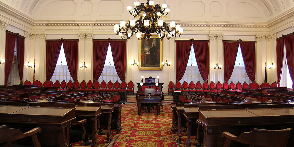 1599px Vermont State House Representatives Hall New bill would let states legalize weed without fear of the federal government