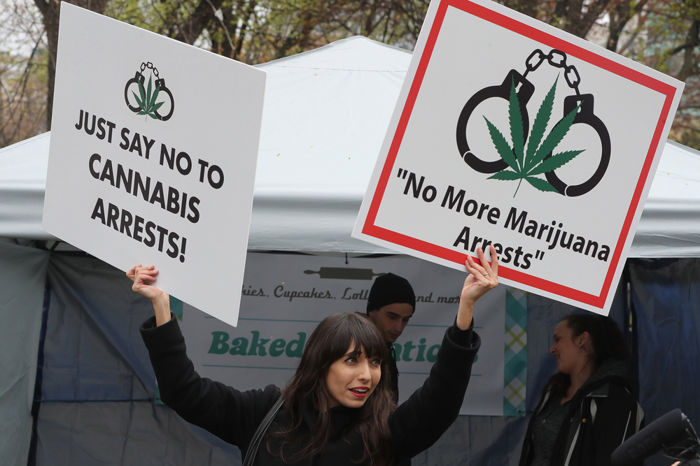 JodieEmery Canada arrests thousands for pot possession even though its about to be legal