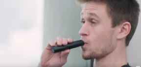Man smoking a vape pen tolerance
