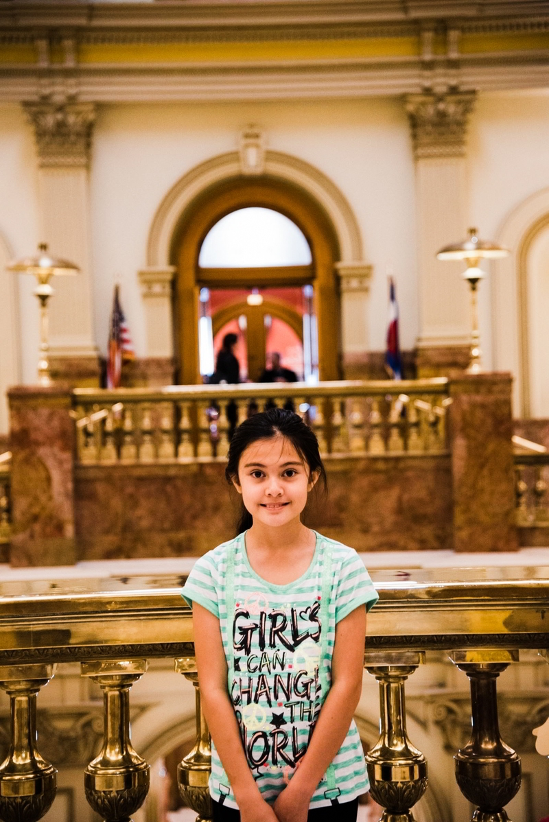 Alexis Bortell  1 of 1 The 12 year old girl suing the feds for her right to use cannabis oil to stop her seizures