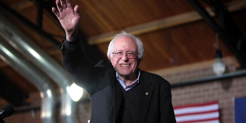 Bernie Sanders launches a petition to legalize weed