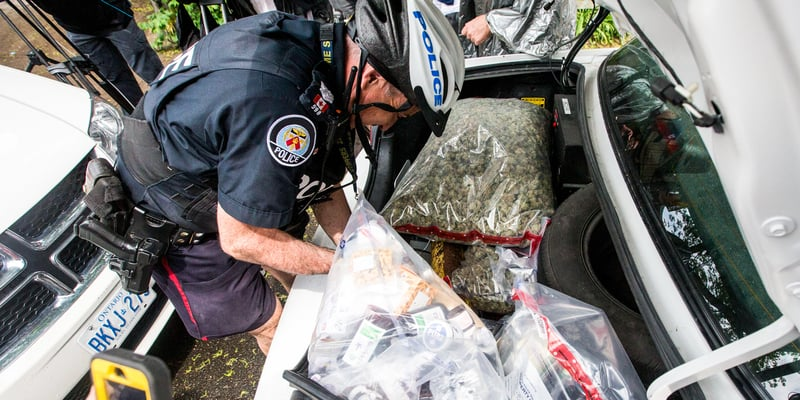 Hamilton Cops are running out of space for illegal weed
