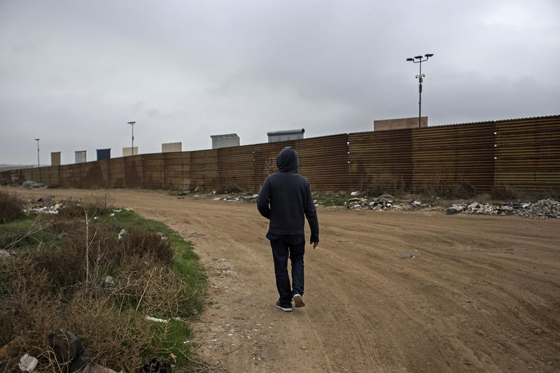 Tijuana Mexico is going to have to build a wall to keep out American weed