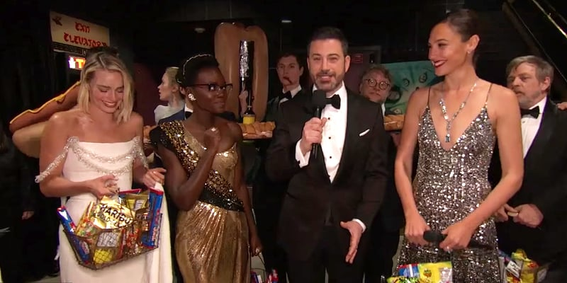 Jimmy Kimmel Busts Some Stoners On Live TV During The Academy Awards