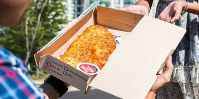 Dominos to deliver pizza to beaches and parks