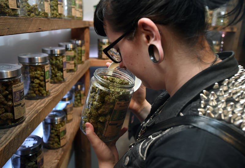 GettyImages 491438470 In Oregons crowded cannabis market, weed now goes for $4 a gram