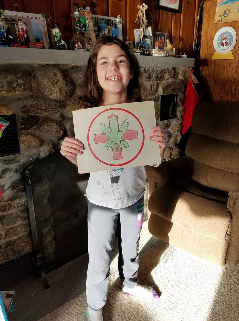 1265432 Rhode Island family fights their school district to allow CBD for their 11 year old