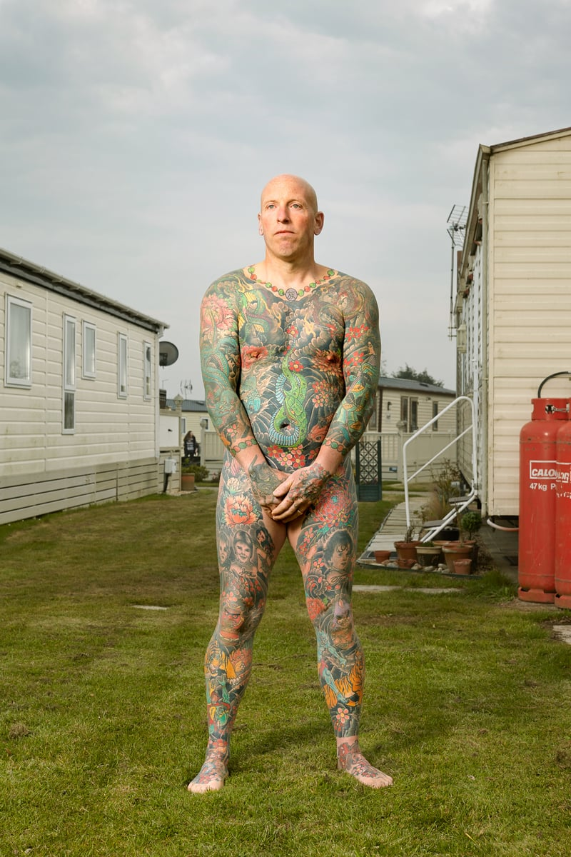 Alan Powdrill Raw Portraits Of The People Devoted To Full Body Tattoos 11 The bodies of the heavily tattooed: exposed
