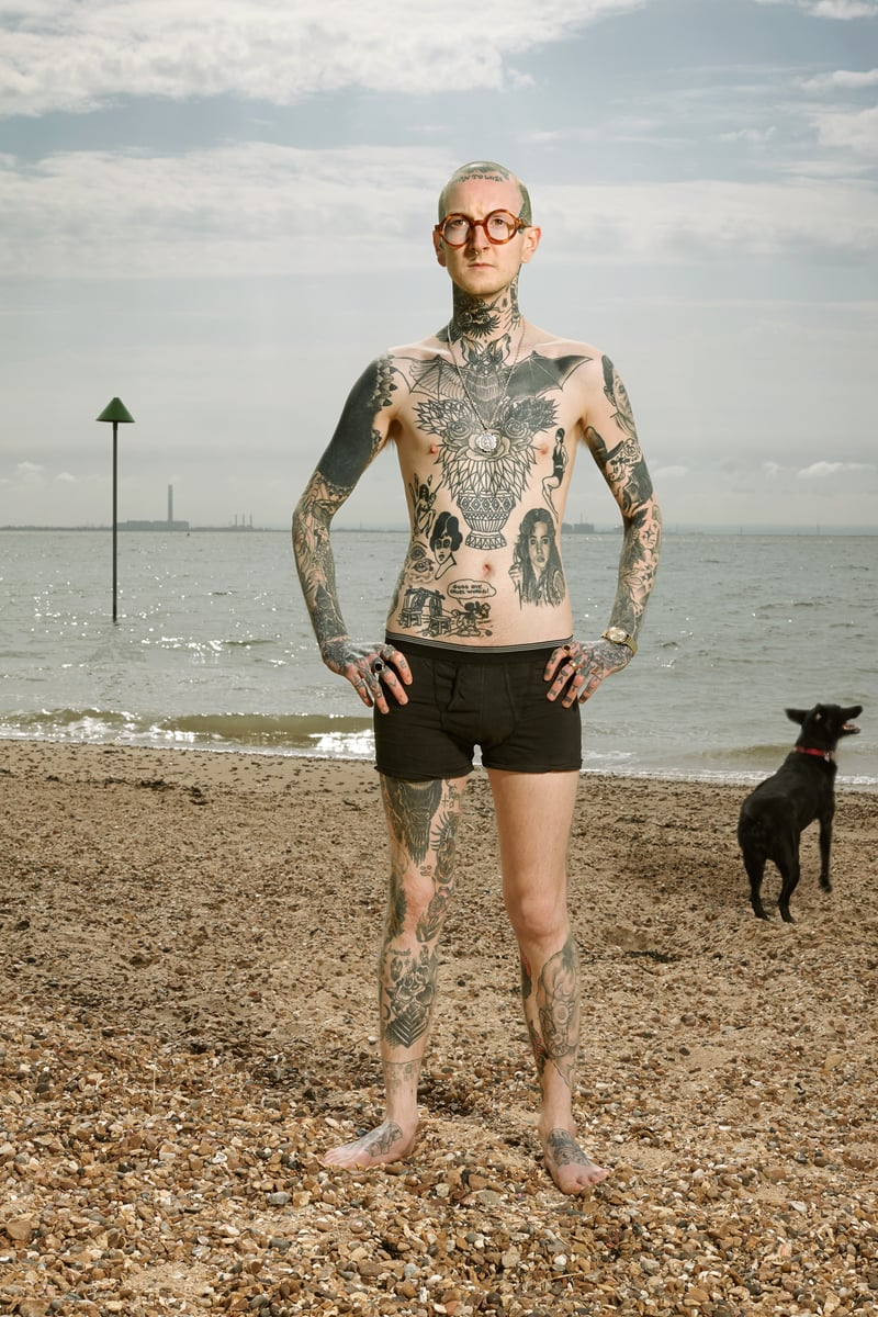 Alan Powdrill Raw Portraits Of The People Devoted To Full Body Tattoos 13 The bodies of the heavily tattooed: exposed