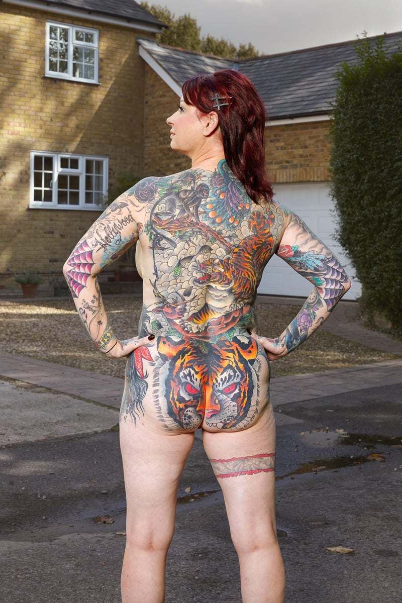 Alan Powdrill Raw Portraits Of The People Devoted To Full Body Tattoos 5 The bodies of the heavily tattooed: exposed