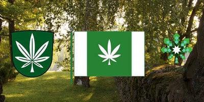 Estonian Town Adopts Cannabis Leaf As New Flag