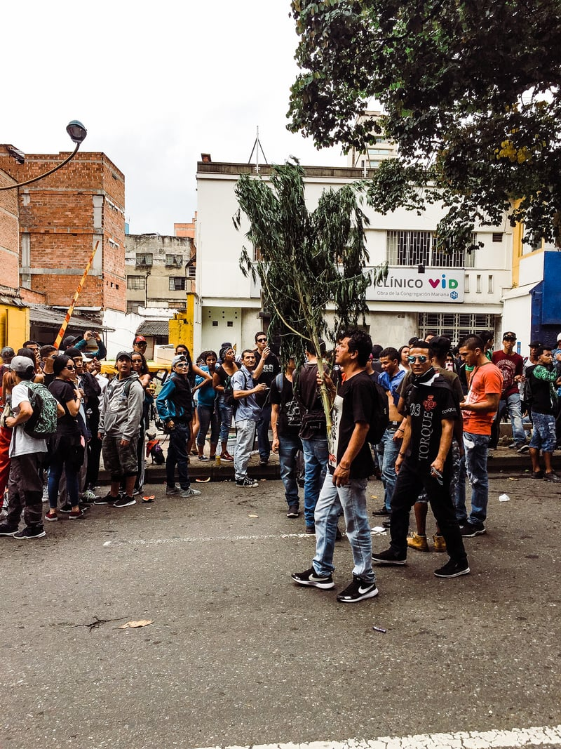 IMG 0531 We marched with 100,000 people in Colombia for cannabis reform