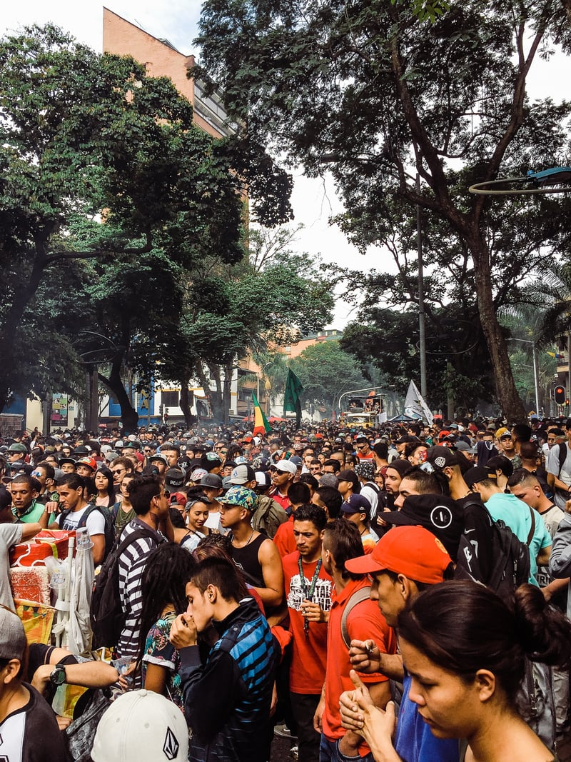 IMG 0562 We marched with 100,000 people in Colombia for cannabis reform