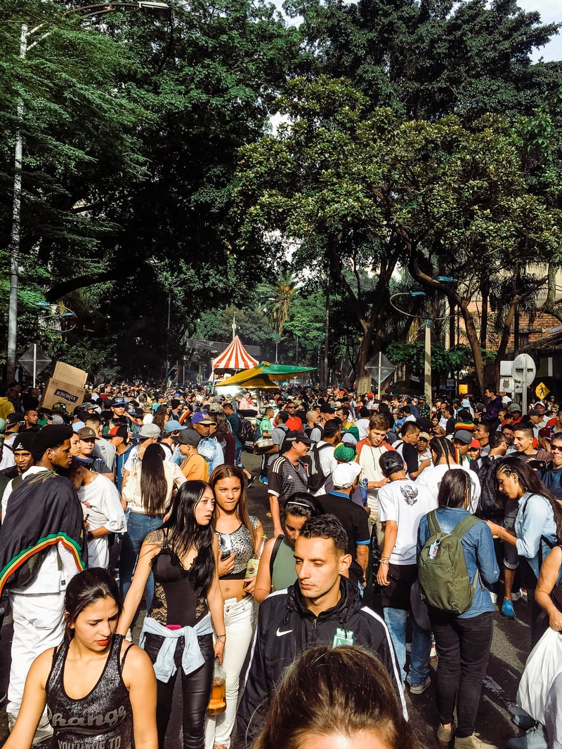 IMG 0621 We marched with 100,000 people in Colombia for cannabis reform