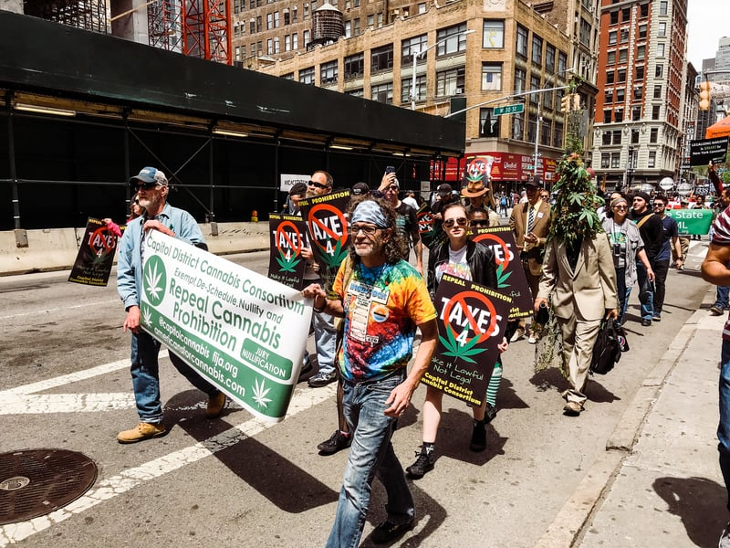 IMG 0909 For cannabis activists in New York City, racial justice is a major topic of conversation