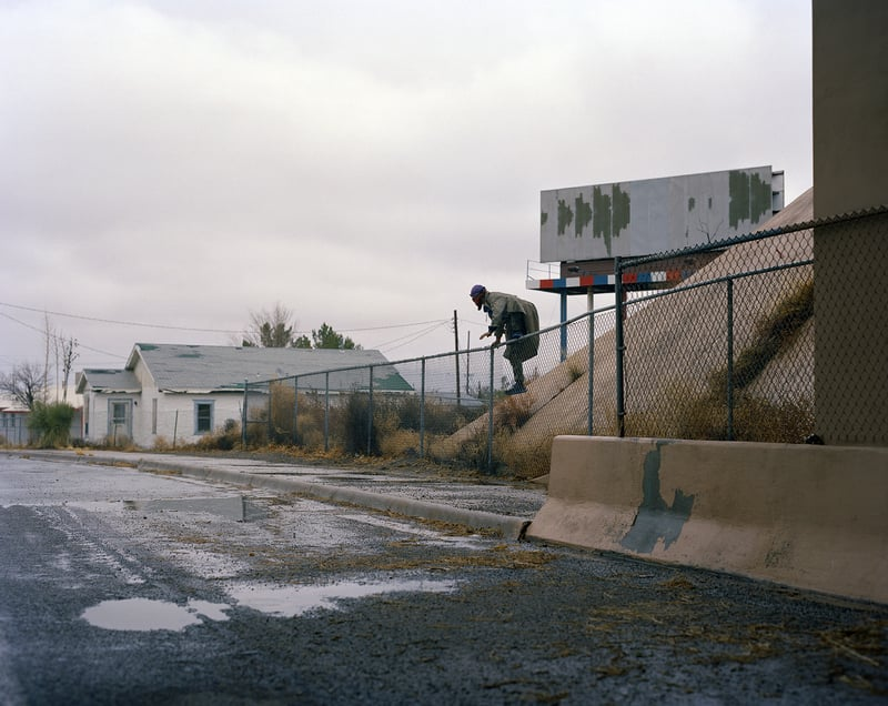 Nicholas Syracuse  CA Route 111 Herb 1 Moving photos of the restless souls who live on the open road