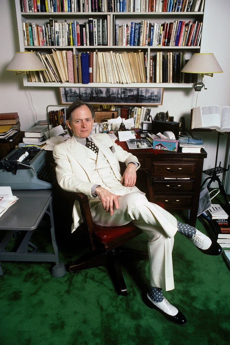 Tomwolfediesat87 Tom Wolfe, non fiction luminary and counterculture icon, dies at 88