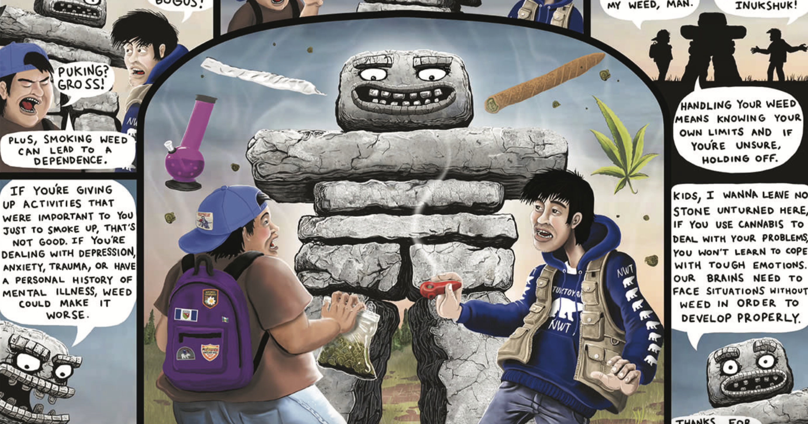 post-image-Creepy Comics and Augmented Reality Used to Educate Teens About Cannabis | Herb